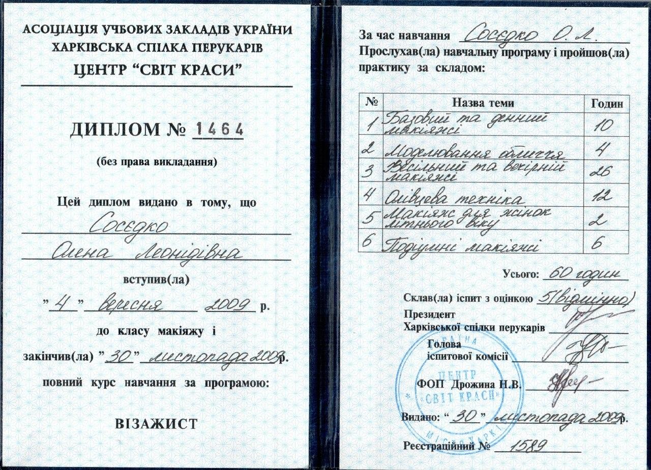 Мои дипломы 1